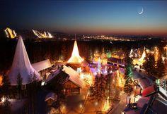 Rovaniemi_ Christmas Vacation Destinations