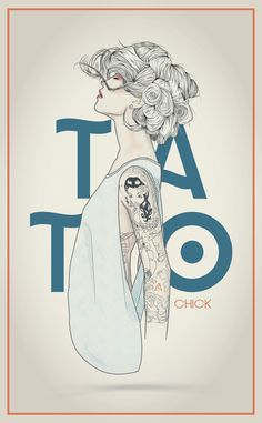 TATTOO CHICK on Behance