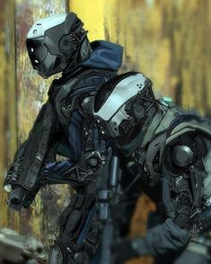 rude-mechanicals: Babel 05 teaser 03 by Neo Japan 2202, Medieval Combat, Character Concept, Character Design, Rude Mechanicals, Futuristic Armour, Mekka, Sci Fi Armor, Future Soldier