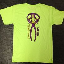 Flare Evolution G.C Tee (Lime Green/Purple/Yellow)