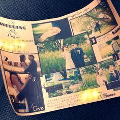 フォトプロップス♡ の画像|saanaaeのブログ(sail wedding paper design)