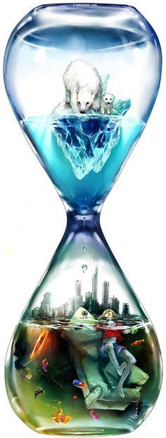 Die Zeit rinnt.