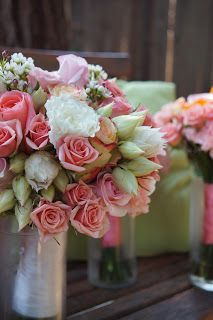 Bloom & Vine Spray rose and blushing bride protea bouquet