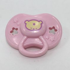 Baby Alive Replacement Pink Bear Pacifier Wide Mouth for Soft Face Doll 17 Baby Alive Food, Baby Alive Dolls, Fake Baby Dolls, Google Baby, Baby Doll Nursery, Baby Doll Accessories, Bitty Baby, Doll Crafts, Toys For Girls