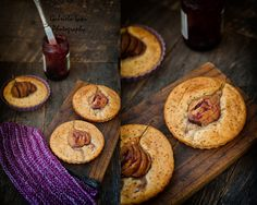 Using the other half of this Sugar free chocolate banana bread batter I made some beautiful small tarts with pears from our garden. We had a lot of pears this year so most of them are falling from …