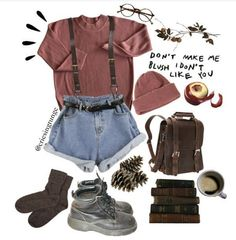 Designer Clothes, Shoes & Bags for Women Grunge Look, Mode Grunge, Grunge Style, 90s Grunge, Grunge Outfits, Fall Outfits, Fashion Outfits, Style Pastel, Vintage Outfits