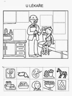 Z internetu - Sisa Stipa - Picasa Web Albums Abc Activities, Health Activities, Therapy Activities, School Worksheets, Worksheets For Kids, Science Experience, People Who Help Us, Flashcards For Kids, Hidden Pictures