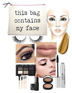 """Untitled #89"" by betina64 ❤ liked on Polyvore featuring beauty, Rimini, Maybelline, NARS Cosmetics, Stila, Bobbi Brown Cosmetics and Gorgeous Cosmetics"