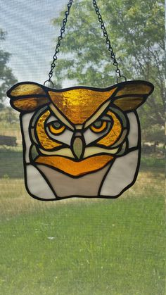 Sun Catcher / Stained Glass Owl