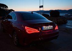 The new Mercedes Benz CLA. Like those back lights.
