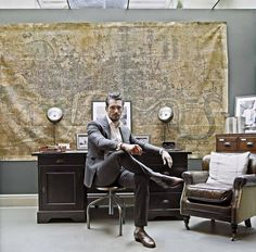 David Gandy study suit