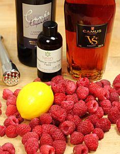How to Make Homemade Raspberry Liqueur (Chambord) and a Raspberry Cosmopolitan http://www.creative-culinary.com/homemade-raspberry-liqueur/