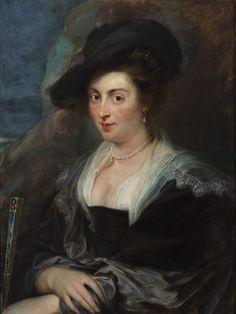 Portret van een vrouw - Peter Paul Rubens, 1972   Collectie Boijmans