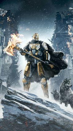 Mobile version of Lord Saladin and the new DLC for Destiny that The Kindred Seven Wolves shall be playing.
