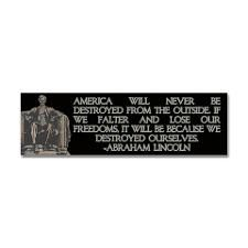 My favorite quote from Honest Abe.