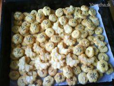 Syrové keksíky - slané pečivo