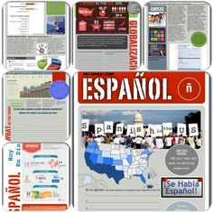 why study spanish 6 page packet. Great for emergency sub plans too! -also on this site are worksheets for the one semester of Spanish love song!