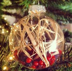 Go Natural ~~ with these beautiful ornaments. #selfmade #christmas #decoration #diy #spices