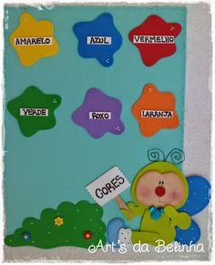 Aprender Brincando: Decoração em e.v.a. para Sala de Aula - Maternal