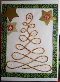 Christmas card hand made