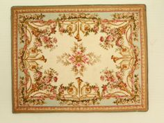 Hey, I found this really awesome Etsy listing at https://www.etsy.com/listing/196019289/aubusson-dollhouse-rug