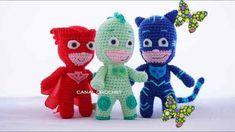 PJ Masks amigurumi tutorial ( Héroes en Pijama) PJ Masks amigurumi tutorial ( Héroes en Pijama) - YouTube    #pjmasks #crochet #amigurumi #häkeln #yarn<br> Amigurumi Tutorial, Crochet Patterns Amigurumi, Crochet Toys, Free Crochet, Knitting Patterns, Crochet Penguin, Crochet Projects, Sewing Projects, Star Wars Crochet
