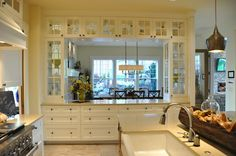 craftsman dining built in china abinet - Google Search