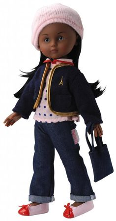 French gifts for kids: Cecile Corolle doll. That outfit is too cute!