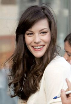 {Liv Tyler}  I'm absolutely obsessed with her. I want to be her when I grow up.