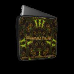 """Mandala Planet's """"Velvet Mirror"""" laptop Cover"""