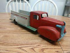Toy Trucks, Illinois, Auction, The Unit, The Originals, Toys, Ebay, Activity Toys, Tin Cans