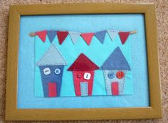 I want to sell Beach hut picture at £5 Felt Beach hut picture http://bizspeaking.com/s/lpoR
