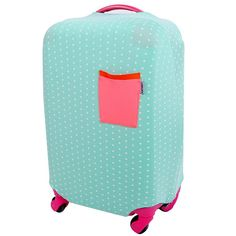 Elastic Travel Luggage Cover Strawberry Ice Cream Suitcase Protector for 18-20 Inch Luggage