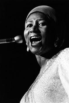 Aretha Franklin Photographic Print by Ted Williams at Art.com