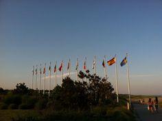 TWA Flight 800 Memorial  Smith Point, Long Island NY 2012