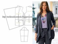 JACKET WITH TIPS ~ Molds Fashion for Measure
