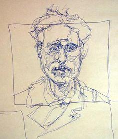 gesture drawing portrait