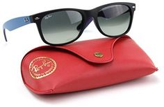 RayBan RB2132 618371 Wayfarer Matte Black  Dark Gray Gradient Lens 52mm * Be sure to check out this awesome product.
