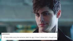 Shadowhunters + Text posts || Alexander Gideon Lightwood || Alec Lightwood || Shadowhunters || Matthew Daddario