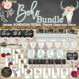 Boho Classroom Themes Decor Bundle - Bohemian Shabby Chic Class Board Decoration, Basket Labels, Tribal Theme, Classroom Decor Themes, Classroom Ideas, Bright Pictures, Back To School Essentials, Graphic Organizers, Flower Shape