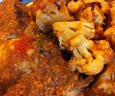 slow cooker paleo chicken tikka masala and cauliflower // Whole Life Eating #whole30