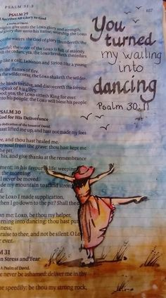 """Psalm 30 The particular Uk word """"Psalm"""" or even """"Psalms"""" took its underlying from your Psalm 30, Bible Drawing, Bible Doodling, My Bible, Bible Art, Bible Verses Quotes, Bible Scriptures, Bible Study Journal, Art Journaling"""