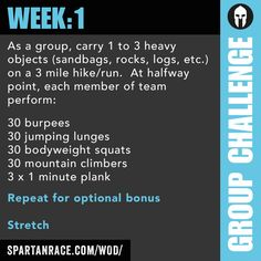 Team Challenge: Group WOD 1.1 - SPARTAN RACE™ Blog