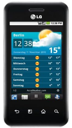 LG Optimus Chic E720 Black 3G WI-FI 5-Megapixel Touchscreen Android 2.2 GSM Unlocked Cell Phone http://electronic.bestcutegifts.com/category/unlocked-cell-phones/