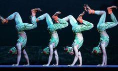 Guangdong Acrobatic Troupe, Royal Opera House, London   Stage   The Guardian Royal Opera House London, The Guardian, Fun Games, Beijing, Traditional Outfits, Gymnastics, Giraffe, Blues, Dancers