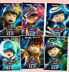Galaxy Movie, Boboiboy Galaxy, Anime Galaxy, Boboiboy Anime, Elemental Powers, Boy Images, Drawing Base, Cartoon Movies, Galaxy Wallpaper