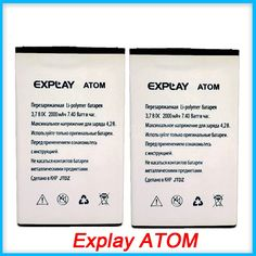 Explay ATOM Battery, High Quality Mobile Phone Replacement Li-ion Battery for Explay ATOM 2000mAh Battery #Affiliate