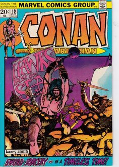 Conan The Barbarian #19  October 1972 - Marvel Comics - Grade VF