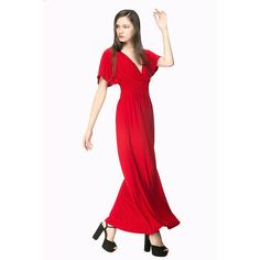 Women Dress Plus Size 6Xl Sexy Elegant Long Dinner Gown New V-neck Evening Party Club Floor Length High Quality Maxi Dress 935 -- You can get more details by clicking on the image.
