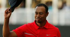 There seemed to be a look of gratitude in Tiger Woods' eyes after his WGC-Cadillac Victory.